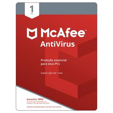 McAfee Antivirus para 1 PC, ESD - Digital para Download