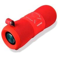 Caixa de Som Portátil Toshiba, Bluetooth, 12W RMS, Vermelho - TY-WSP200R