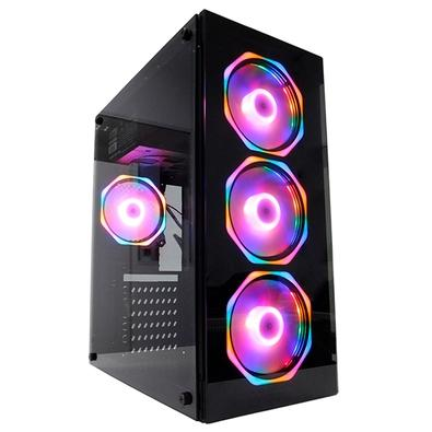 PC Gamer Concórdia Glass Intel Core i5-9400F, 8GB DDR4, SSD 480GB, GTX 1650 4GB, Fonte 500W, Linux - 40551