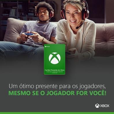 Gift Card Xbox: R$ 10 - Código Digital