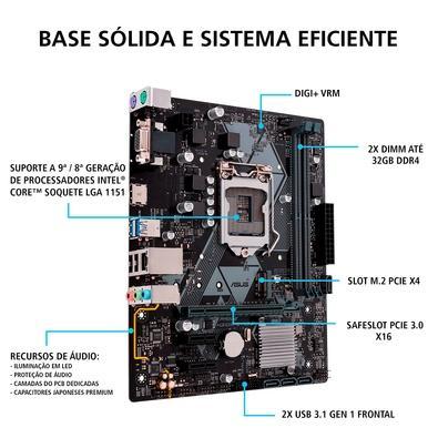 Computador Gamer PCMIX Intel Pentium Gold, 8GB DDR4 SSD 240GB Windows 10 - CPU L4500W