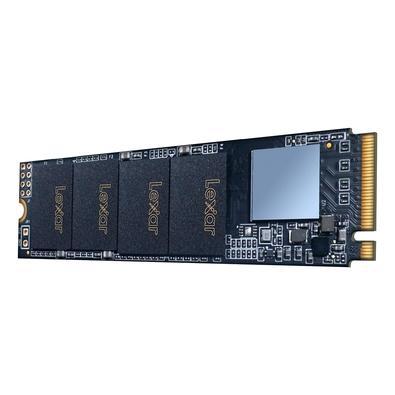 SSD Lexar LNM610 500GB, NVMe M.2 2280, Leitura: 2100MB/s e Gravação: 1600MB/s - LNM610-500RB