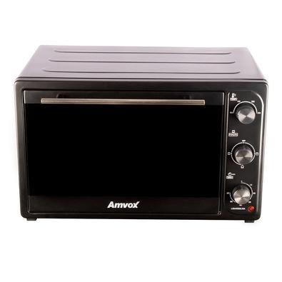 Forno Elétrico Amvox 45L, com 4 Temperaturas Até 250 Graus, 110V, Preto - AFR 4500