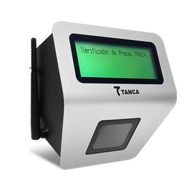 Scanner Verificador de Preço Tanca VP-640W, Leitura 1D e 2D, Interface Ethernet, WiFi e Bluetooth - 1949