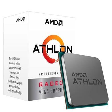 Processador AMD Athlon 3000G Two Core, Cache 5MB, 3500MHz, AM4 - YD3000C6FBBOX