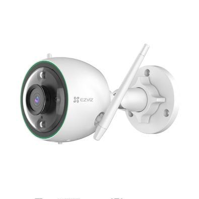 Câmera de Segurança Externa EZVIZ C3C 1080P Full HD WiFi, Detectação de Movimento, Visão Noturna Colorida, Branco - C3N