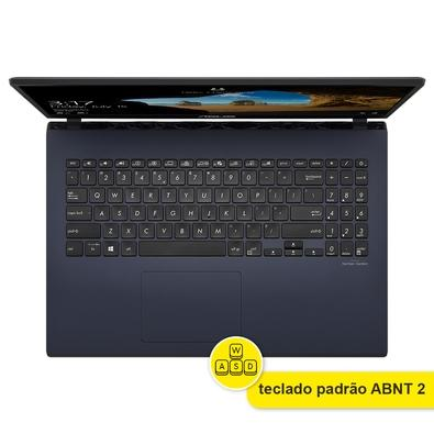 Notebook Gamer Asus Intel Core i5-9300H, NVIDIA GTX 1650, 16GB RAM, 256GB SSD, Tela 15,6 Full HD, Windows 10 Home, Preto - X571GT-AL888T