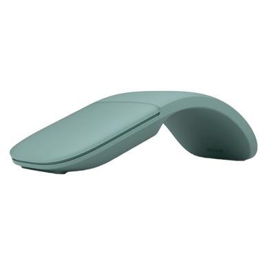 Mouse Sem Fio Microsoft Arc, Conexão Bluetooth 4.1, Verde - ELG00050