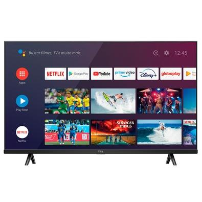 Smart TV SEMP TCL LED S615, 40, Full HD HDR, HDM, USB, 60Hz, Modo Gaming, Google Assistant, Android, Borda Fina, Preto