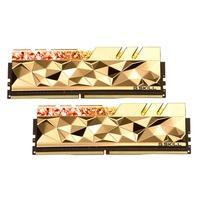Memória G.Skill Trident Z Royal Elite, RGB, 16GB (2x8GB), 3600MHz, DDR4, CL16, Dourada - F4-3600C16D-16GTEGC