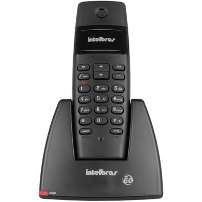 Telefone Intelbras sem Fio 1.9GHz TS40 6.0 Preto