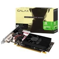 Placa de Vídeo Galax NVIDIA GeForce GT 210, 1GB DDR3, 64 Bits - 21GGF4HI00NP