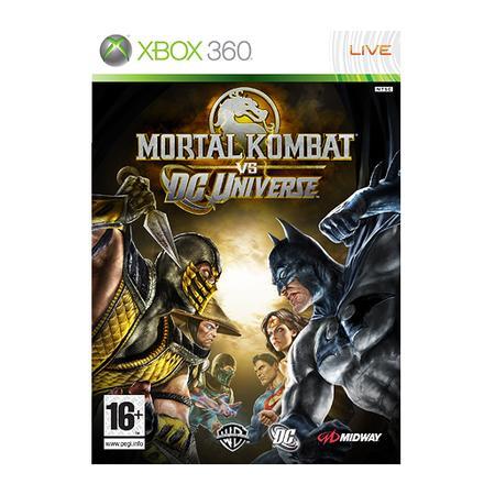Game Mortal Kombat vs. DC Universe Xbox 360