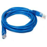 Cabo de Rede Plus Cable CAT5e 5mts Azul - PC-CBETH5001