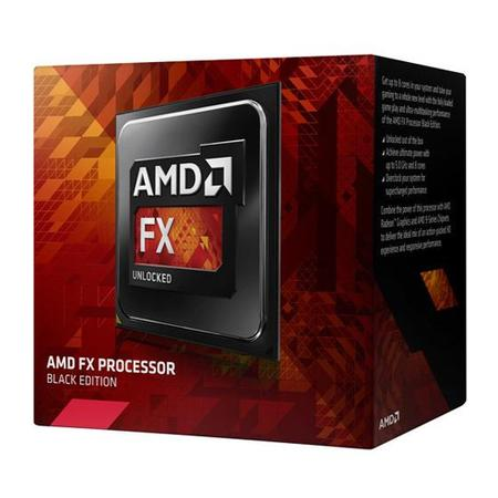 Processador AMD FX-8350 Vishera, Cache 16MB, 4.0GHz (4.2Ghz Max Turbo) AM3 FD8350FRHKBOX