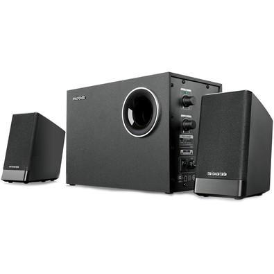 Caixa de Som Microlab Speaker 2.1CH, 40W RMS Bass Reflex - M-290