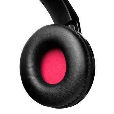 Headset Gamer Corsair P2 Stereo 2.0 Preto e Vermelho HS30 - CA-9011121