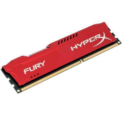 Memória HyperX Fury, 8GB, 1333MHz, DDR3, CL9, Vermelho - HX313C9FR/8