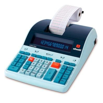 Calculadora Financeira Olivetti LOGOS 804B com Impressora, 14 Dígitos, Visor LCD, Sistema Back-lit - Bivolt