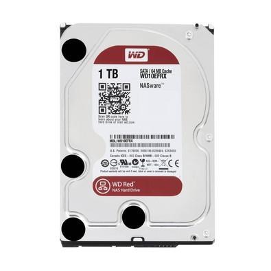HD WD SATA 3,5´ RED NAS 1TB 5400RPM 64MB Cache SATA 6.0Gb/s - WD10EFRX