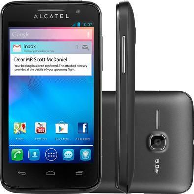03a81380427 KaBuM! - Smartphone Alcatel One Touch M Pop, 4GB, 5MP, Tela 4 ...