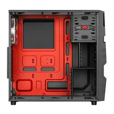 Gabinete Sharkoon ATX USB 3.0 Fan LED Incluso VG5-W Red