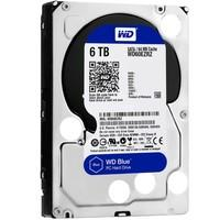 HD WD SATA 3,5´ Blue PC 6TB 5400RPM 64MB Cache SATA 6.0Gb/s - WD60EZRZ