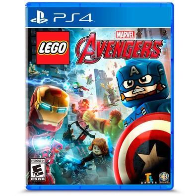 Game Lego Marvel Vingadores PS4