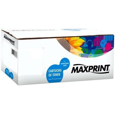 Toner Maxprint para HP, Preto - CF283A