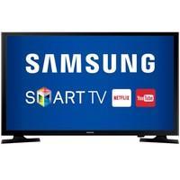 Smart TV Samsung 40´ LED Full HD com USB, 2 HDMI, Wi-Fi, Conversor Integrado - UN40J5200AGXZD