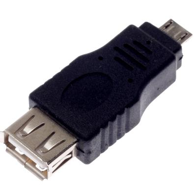 Adaptador MD9 USB A Fêmea X Mini USB 5 Pinos Macho 6636