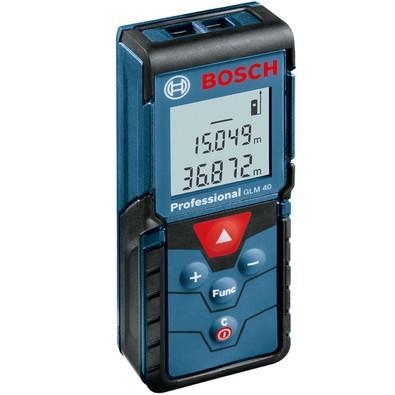 Trena a Laser 40 metros Bosch GLM 40