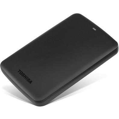 HD Toshiba Externo Portátil Canvio Basics, 1TB, USB 3.0 - HDTB310XK3AA