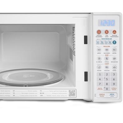Micro-ondas Electrolux Tira Odor e QR Code Branco (MTO30) 220V