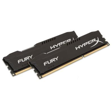 Memória HyperX Fury, 32GB (2x16GB), 2133MHz, DDR4, CL14, Preto - HX421C14FBK2/32