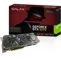 Placa de Vídeo VGA Galax NVIDIA GeForce GTX 1070 EX 8GB GDDR5 256Bit PCI-E - 70NSH6DHL4XE
