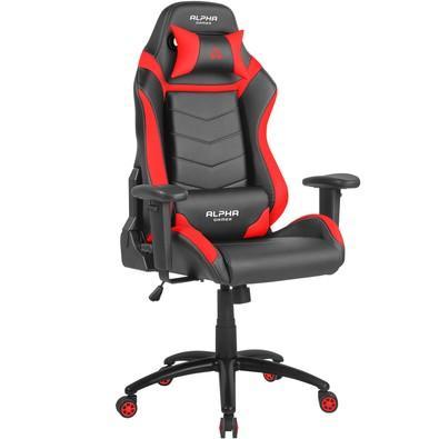 Cadeira Gamer Alpha Gamer Gamma, Black Red