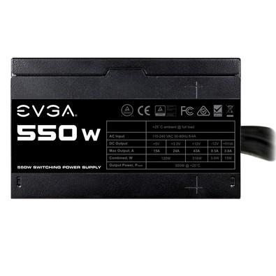 Fonte EVGA 550W 100-N1-0550-L
