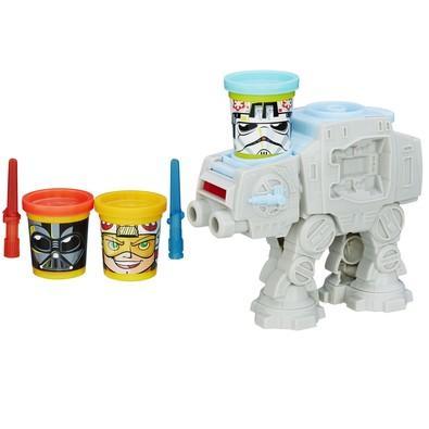 Massa de Modelar Star Wars Kit Ataque Play-Doh Hasbro B5536