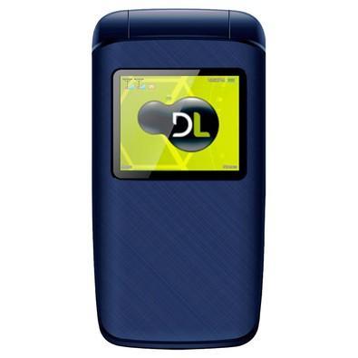 Celular DL YC-335, Tela de 1.77´, Câmera VGA, MP3, Rádio FM, Dual Chip, Desbloqueado - Azul