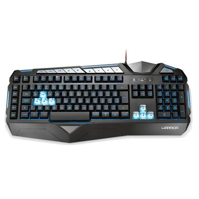 Teclado Gamer Warrior LED, ABNT2 - TC209