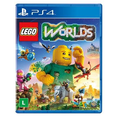 Game Lego Worlds PS4