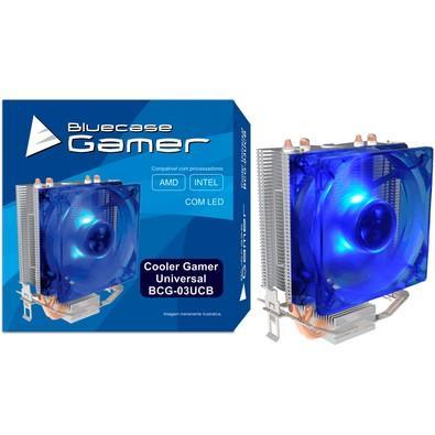 Cooler para Processador Bluecase Gamer AMD/Intel Cobre com LED Azul BCG-03UCB