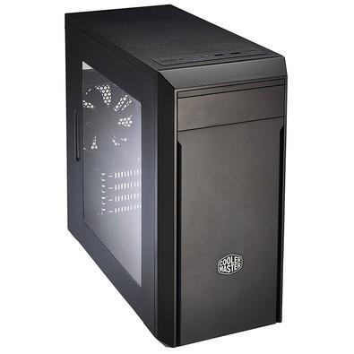 Gabinete CoolerMaster MasterBox LITE 3 USB 3.0 X 2 Micro ATX Lateral em Acrílico MCW-L3S2-KW5N