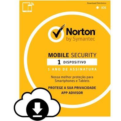 Norton Mobile Security 1 Dispositivo 12 Meses - Digital para download