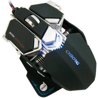 Mouse Gamer Mecânico Dazz Cyborg 4000 dpi - 622462
