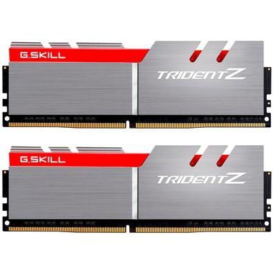 Memória G.SKill Trident Z 8GB (2x4GB) 3200MHz DDR4 CL 16 - F4-3200C16D-8GTZB
