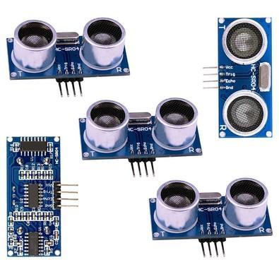 Elegoo Módulo Ultrassônico para Arduino com Sensor de Distância  HC-SR04 UNO MEGA2560 5 Peças