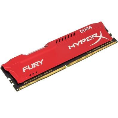 Memória HyperX Fury, 8GB, 2666MHz, DDR4, CL16, Vermelho - HX426C16FR2/8