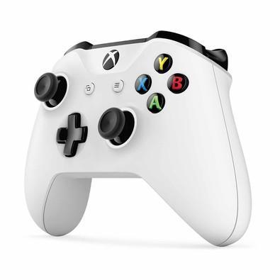 Controle Microsoft Wireless Branco Xbox One TF5-00002